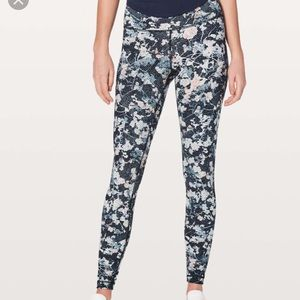 Lululemon floral leggings